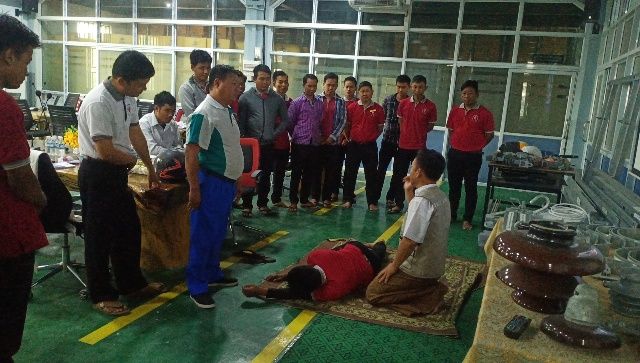 Safety and First-Aid Training from KNM